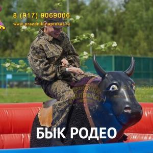 Бык Родео надувной аттракцион