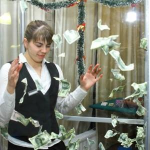 Бешенные деньги аттракцион