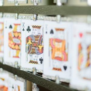 Карточный стенд