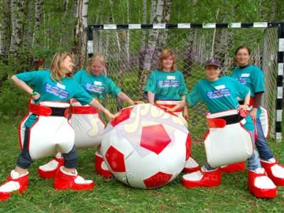 Гигантский мяч (диаметр 1 метр) аттракцион