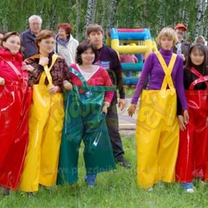 Командные штаны (на 3 человека) аттракцион